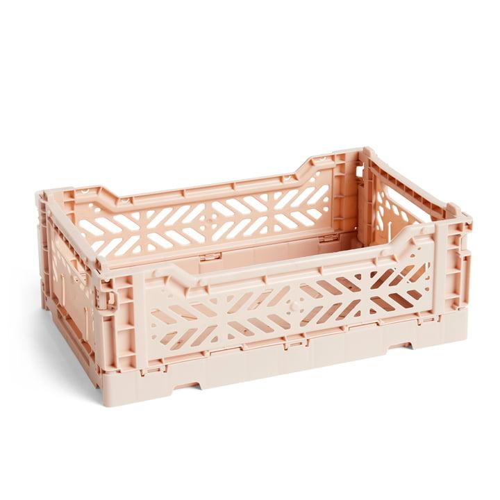 Colour Crate Korb S, 26,5 x 17 cm von Hay in nude
