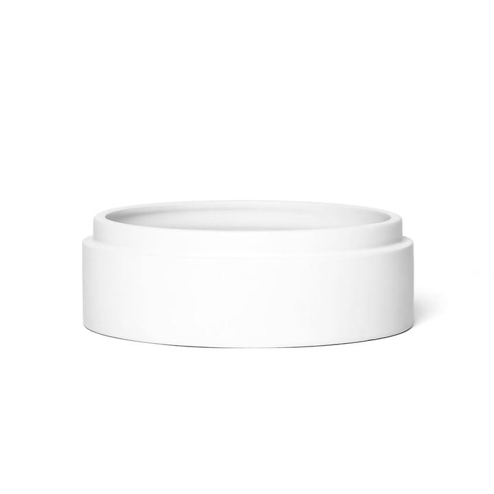 Scutra Schale, Ø 18 x H 4,5 cm in weiß matt von Conmoto