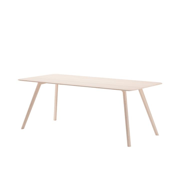 Meyer Tisch Large von Objekte unserer Tage - 200 x 92 cm in Esche geölt