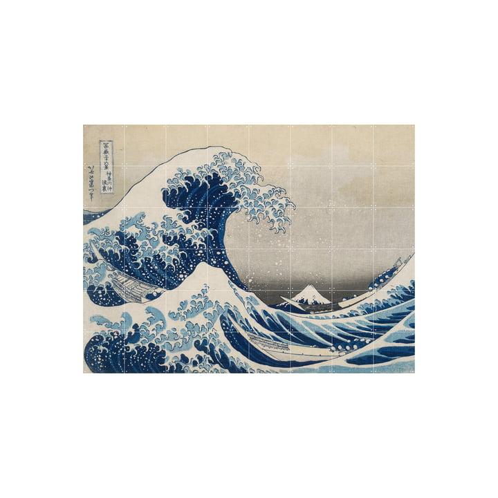 Die grosse Welle vor Kanagawa (Hokusai) 160 x 120 cm von IXXI