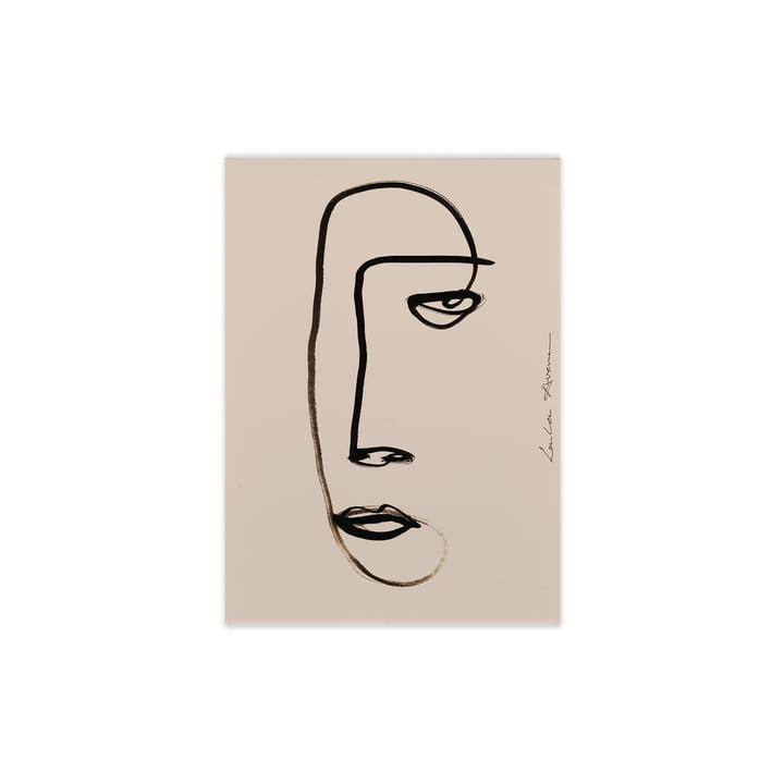 Serious Dreamer von Paper Collective, 30 x 40 cm