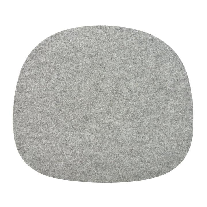 Filz Sitzkissen für Vitra Stühle in Grau aus der Connox Collection