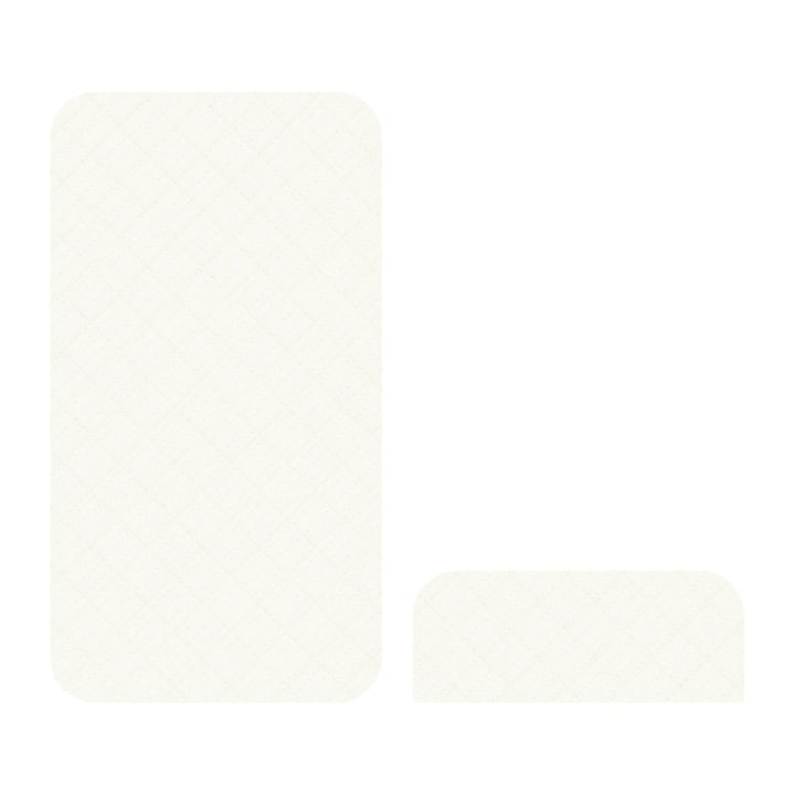 Matratze für das Junior & Grow von Sebra in cremeweiss