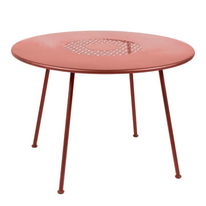Lorette Tisch Ø 110 cm von Fermob in ockerrot