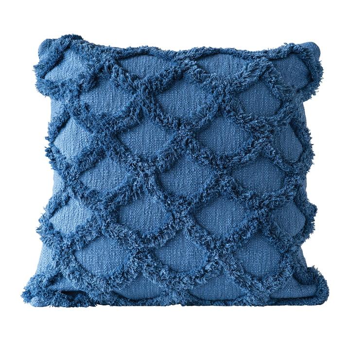 Gathering Kissen von Bloomingville, L 45 x W 45 cm in blau