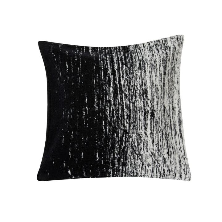 Kuiskaus Kissenbezug, 50 x 50 cm in schwarz / weiss von Marimekko