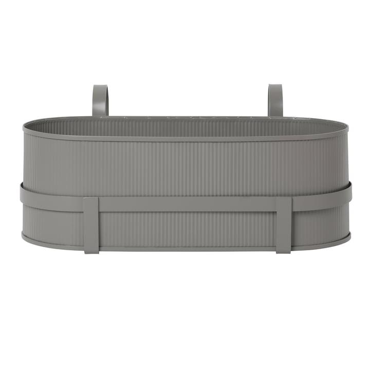 Bau Balcony Box von ferm Living in warm grey