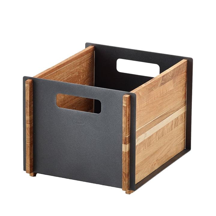 Box Aufbewahrungskasten von Cane-line in Teak / lava grey