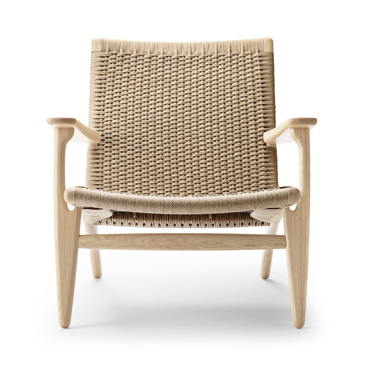 CH25 Sessel von Carl Hansen in Eiche geseift / natur