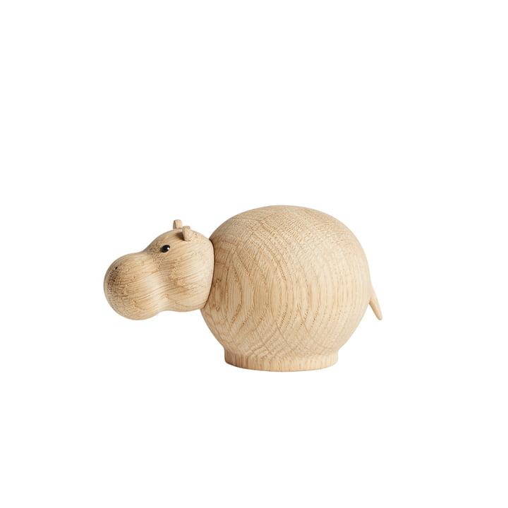 Hibo Nilpferd in mini von Woud in Eiche matt lackiert