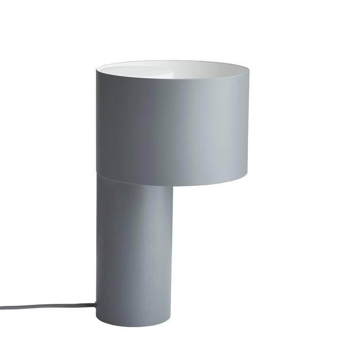 Tangent Tischleuchte von Woud in cool grey