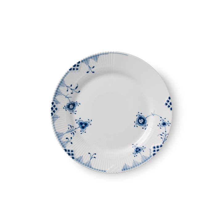 Elements Blau Teller flach Ø 19 cm von Royal Copenhagen