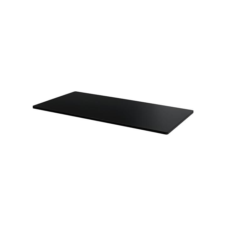 Abdeckplatte für Panton Wire 34,8 x 18,8 cm von Montana in MDF schwarz