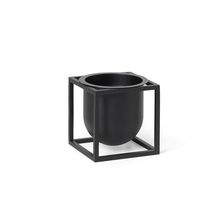 Kubus Flowerpot 10 von by Lassen in schwarz