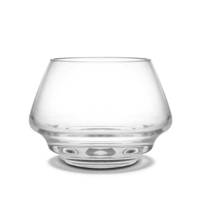 Flow Teelichthalter Ø 10 cm von Holmegaard in klar