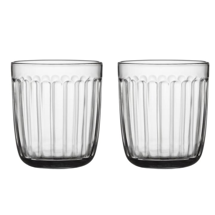Raami Trinkglas 26 cl (2er-Set) von Iittala in klar