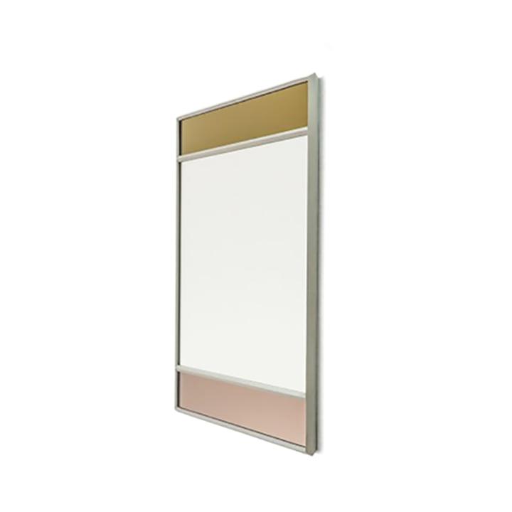 Vitrail Wandspiegel 50 x 50 cm von Magis in hellgrau / mehrfarbig