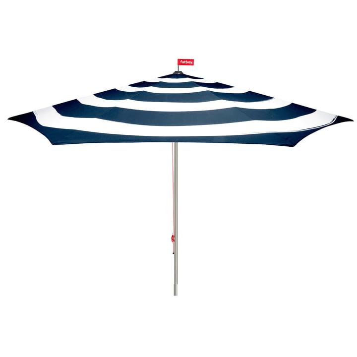 Stripesol Sonnenschirm von Fatboy in dunkelblau