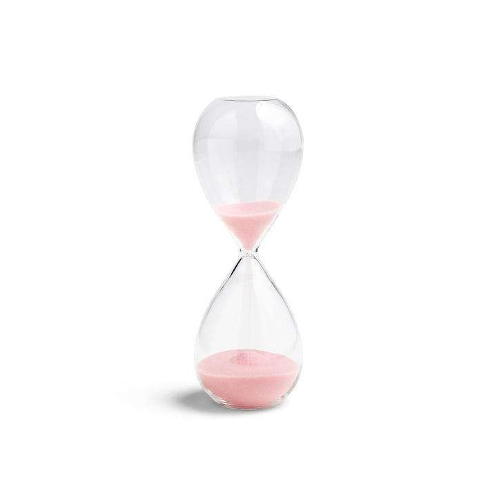 Time Sanduhr M von Hay in light pink