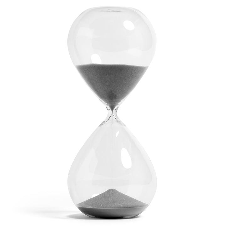 Time Sanduhr XXXL von Hay in silber