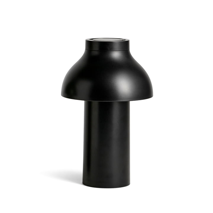 PC Portable LED Leuchte von Hay in soft black (RAL 9004)