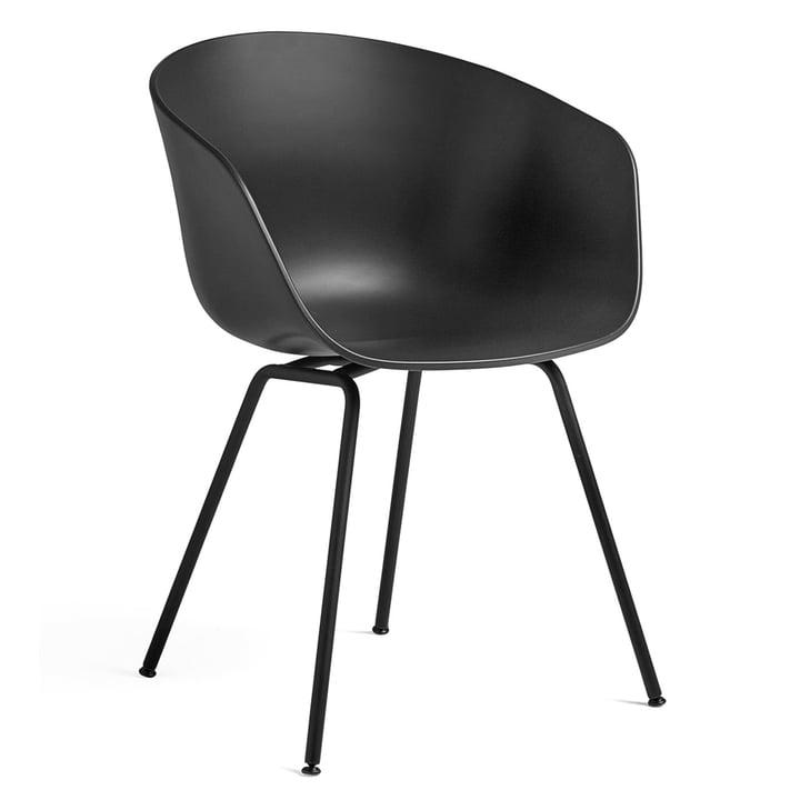 About A Chair AAC 26 von Hay in Stahl schwarz / schwarz
