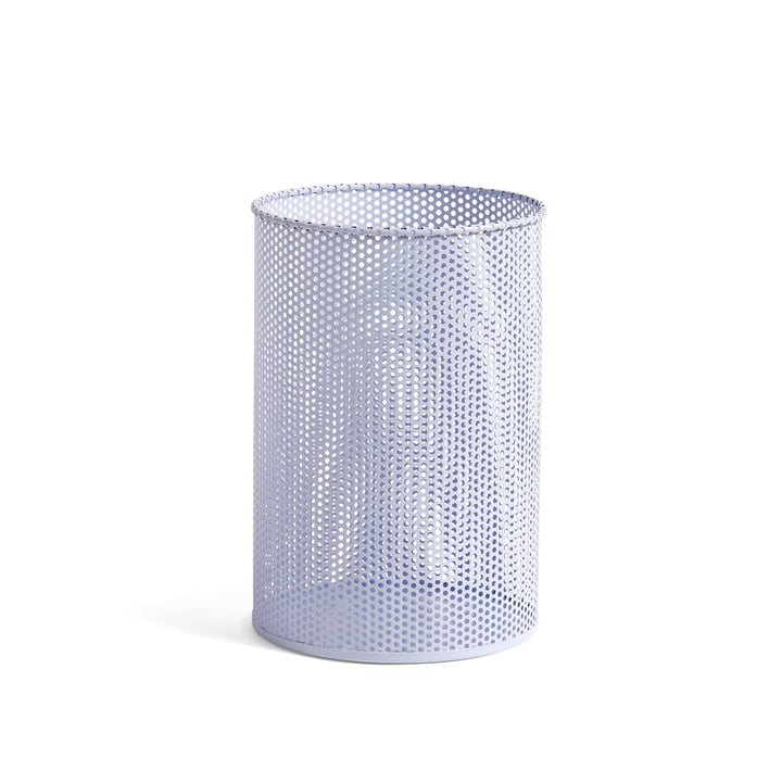 Perforated Bin M Ø 25 x H 36 cm von Hay in lavendel