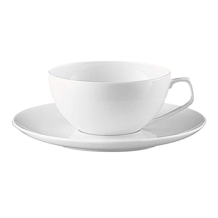 TAC Teetasse von Rosenthalin weiß (2 tlg.)