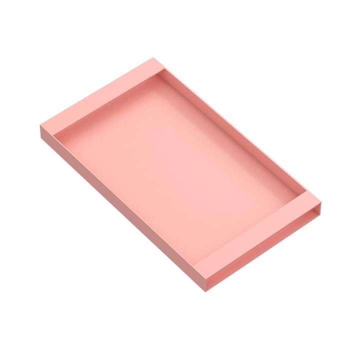 Torei Serviertablett 320 × 185 × 25 mm von New Tendency in rosa