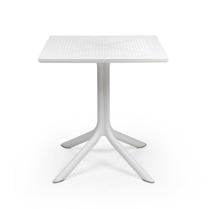 Der ClipX 70 Tisch in weiss von Nardi