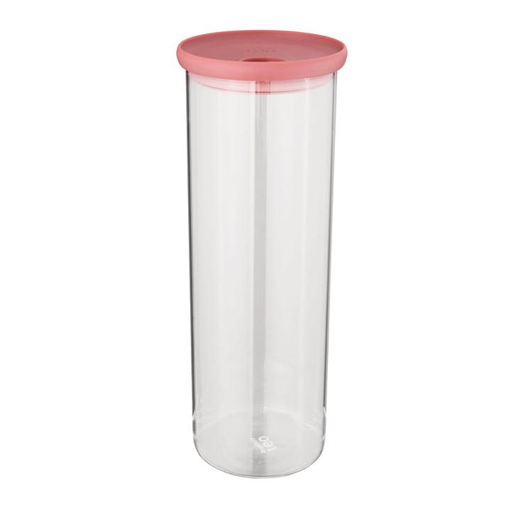 Leo Pasta-Behälter aus Glas 1,9 l von Berghoff in rosa