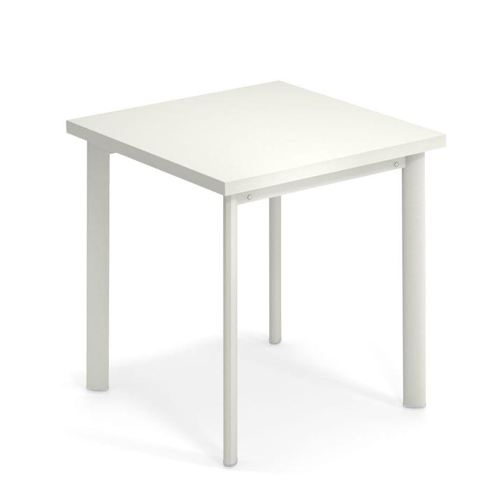 Star Tisch H 75 cm, 70 x 70 cm in weiss von Emu
