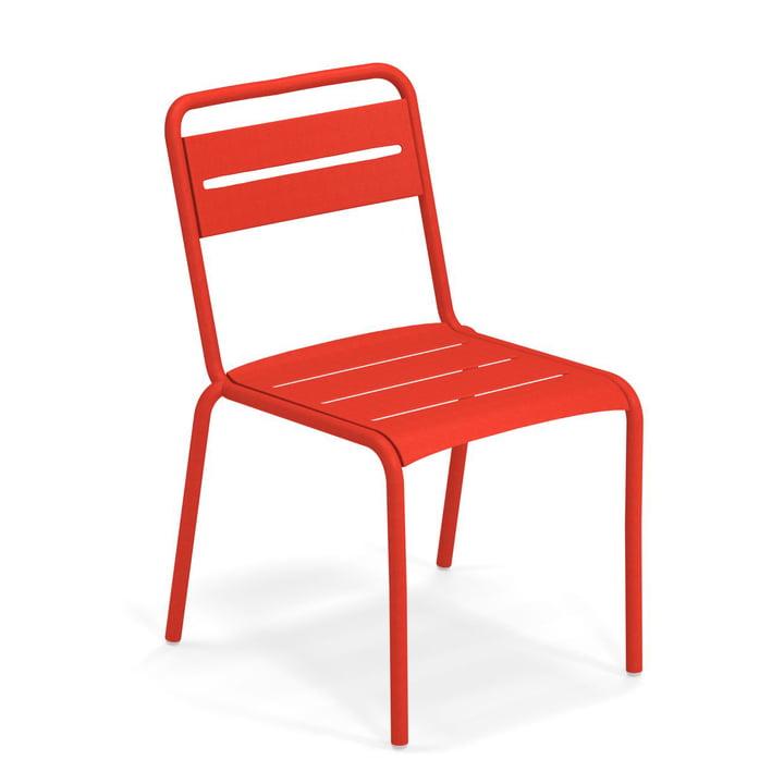 Star Stuhl in scharlachrot von Emu