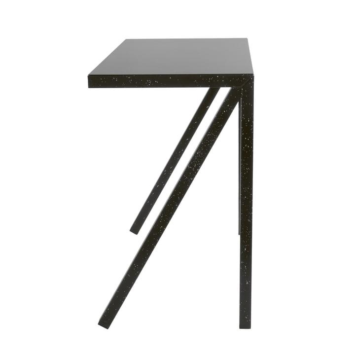 Bureaurama Bar-Tisch H 102,5 cm in schwarz (gespritzt weiss) von Magis