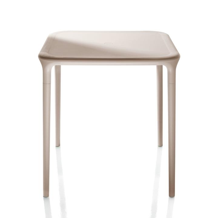 Air TableOutdoor, 65 x 65 cm in beige von Magis