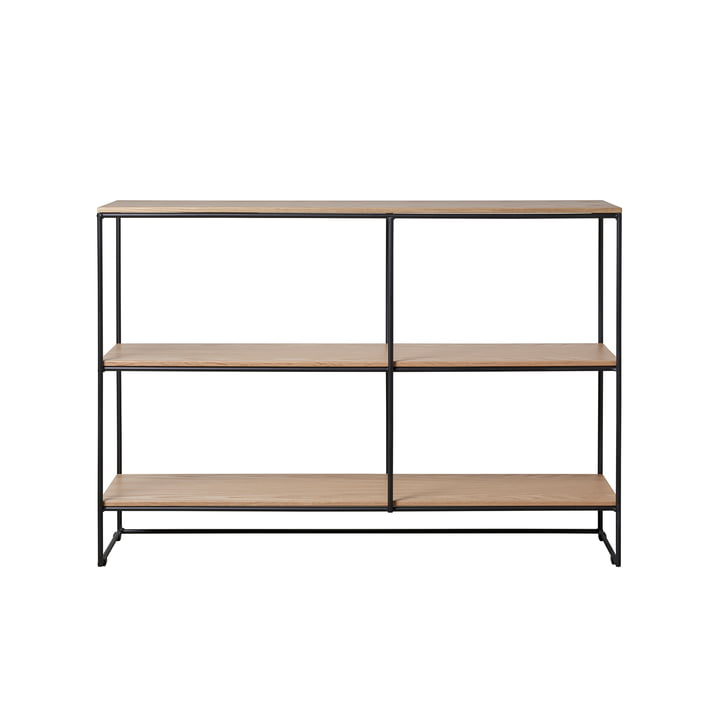 Planner Regal small von Fritz Hansen in Eiche / schwarz