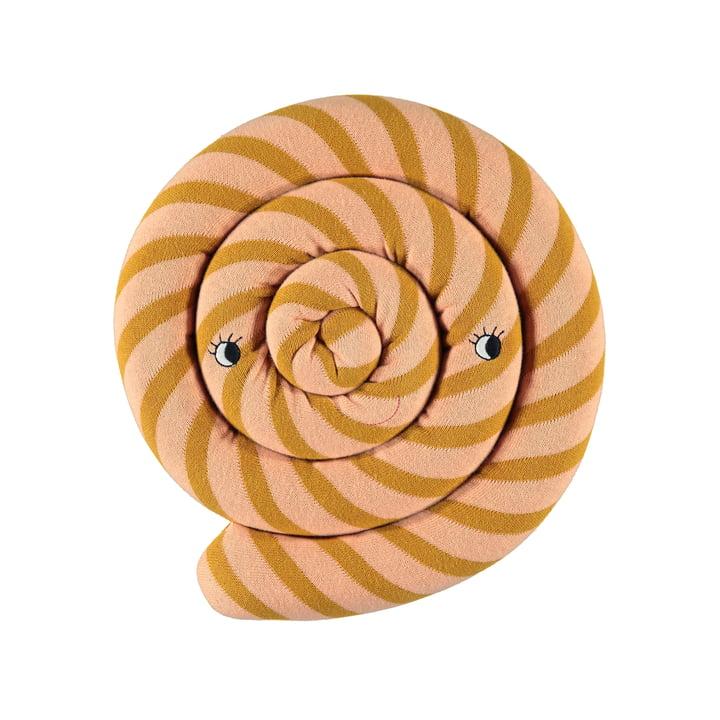 Lollipop Kissen Ø 30 cm von OYOY in karamell