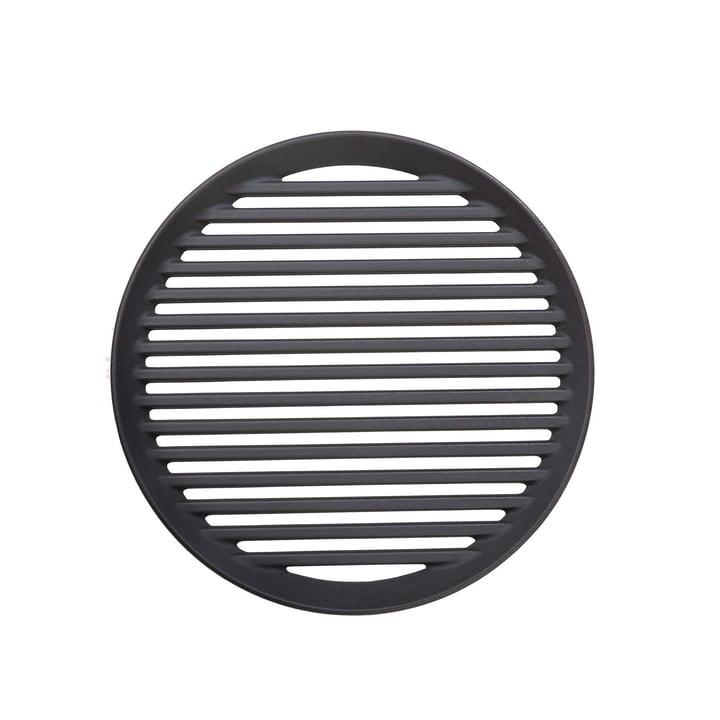 Grillrost aus Gusseisen für Forno Grill Ø 32 cm von Morsø in schwarz