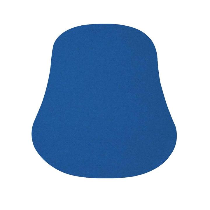 Filz-Auflage für Masters Stuhl von Hey Sign in 5 mm petrol mit Antirutsch-Beschichtung