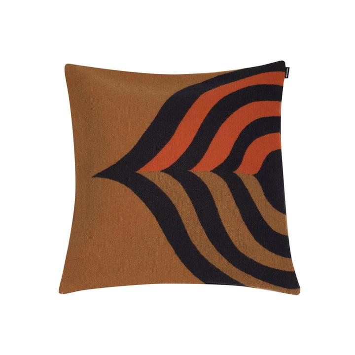 Keisarinkruunu Kissenbezug 50 x 50 cm von Marimekko in braun / schwarz / orange