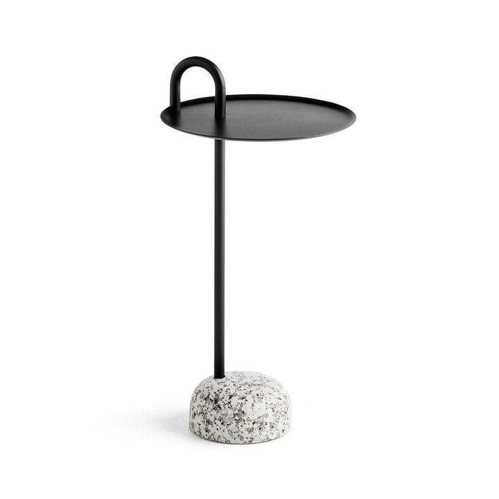 Bowler Beistelltisch, Ø 36 cm / H 70,5 cm in schwarz von Hay