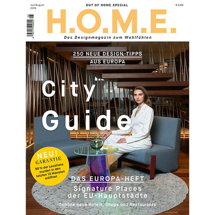 H.O.M.E. Designmagazin - Juli / August 2019