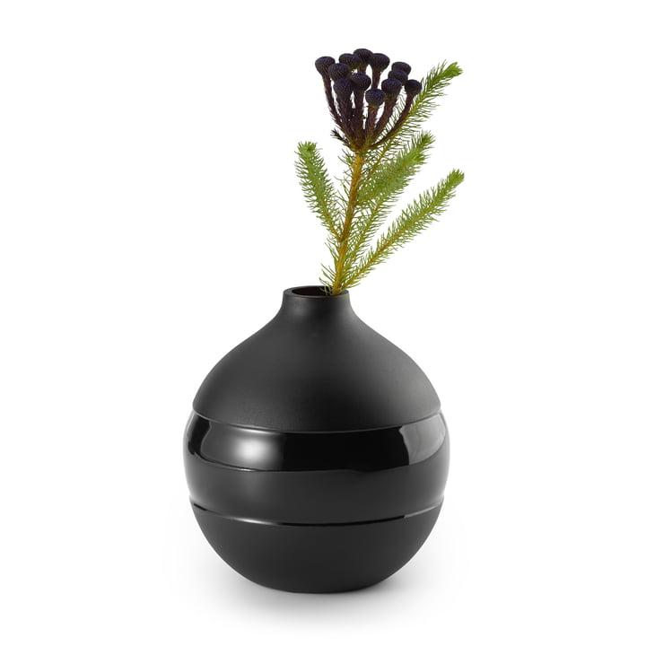 Negretto Vase S, schwarz von Philippi