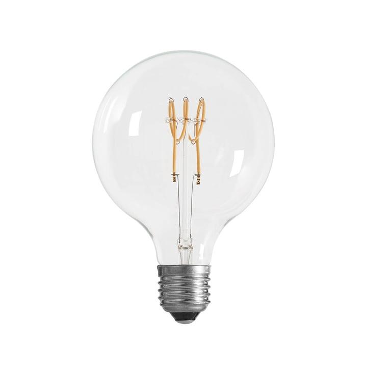LED-Spin Leuchtmittel Ø 125 mm, E27 / 3 W, klar von NUD Collection