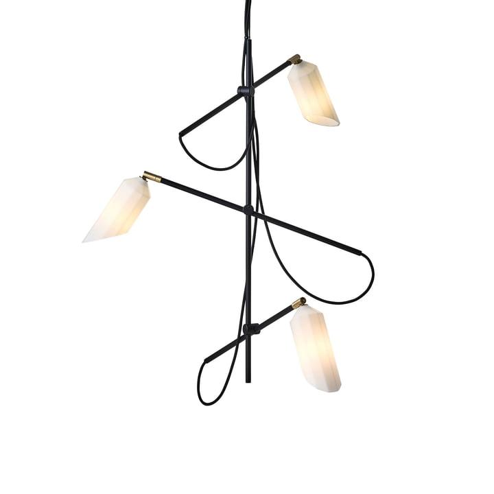 Pliverré Kronleuchter von Le Klint in schwarz / weiss