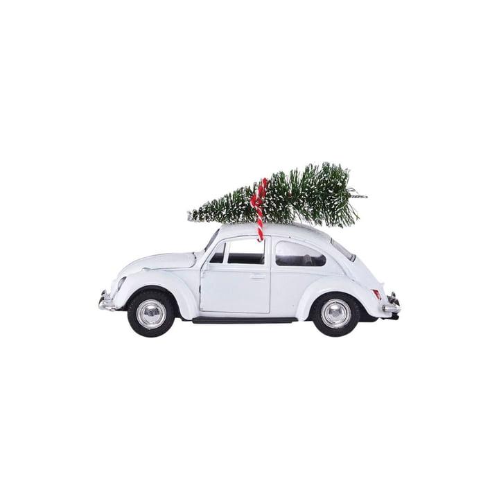 Xmas Cars Deko-Autos 8,5 cm von House Doctor in weiss