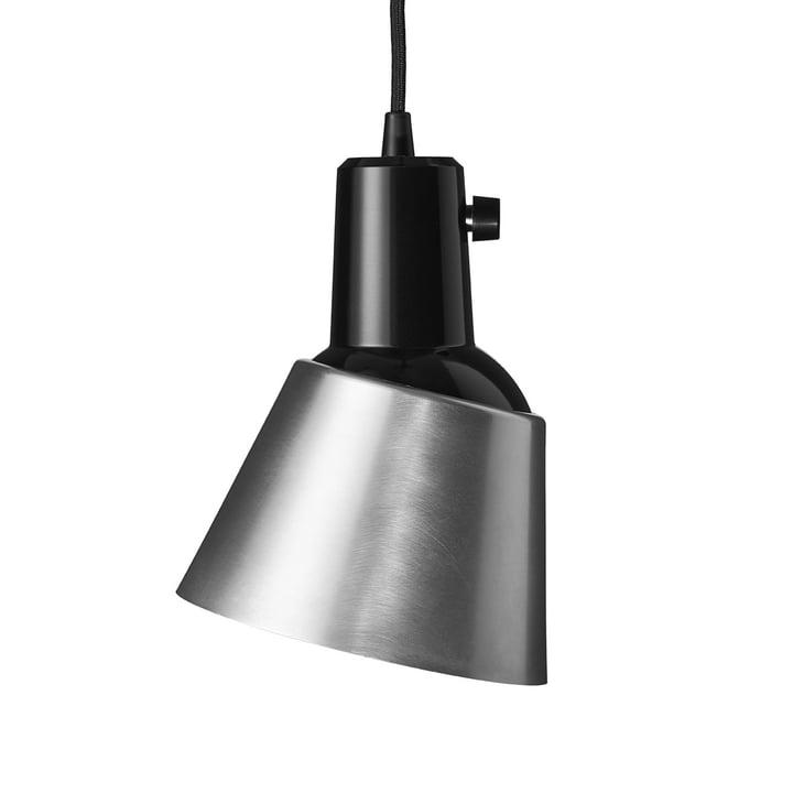 K831 Pendelleuchte von Midgard in Aluminium (Zuleitung schwarz)