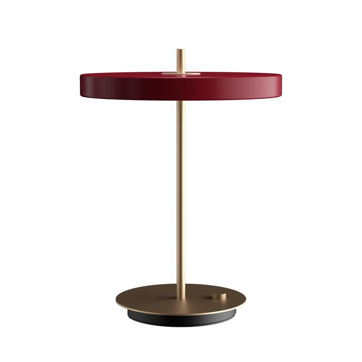 Asteria LED-Tischleuchte Ø 31 x H 41,5 cm von Umage in ruby red