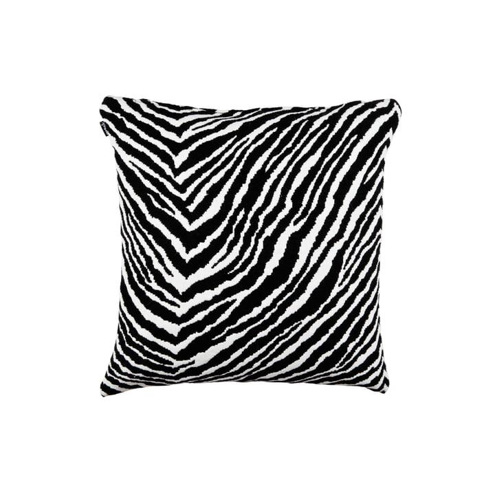 Zebra Kissenbezug 40 x 40 cm von Artek in schwarz / weiss