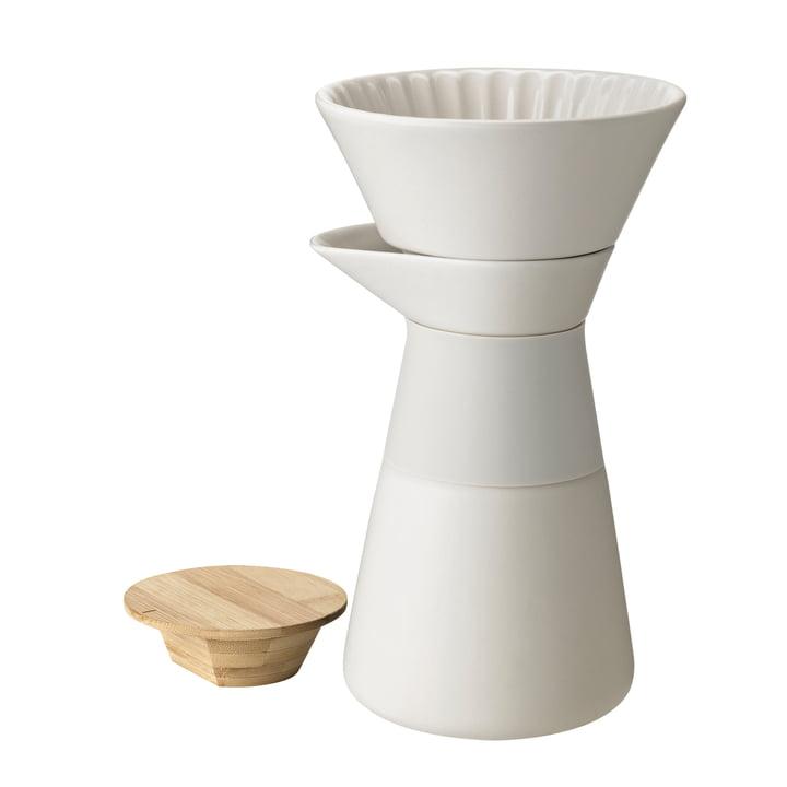 Theo Kaffeefilterkanne 0,6 l von Stelton in sand